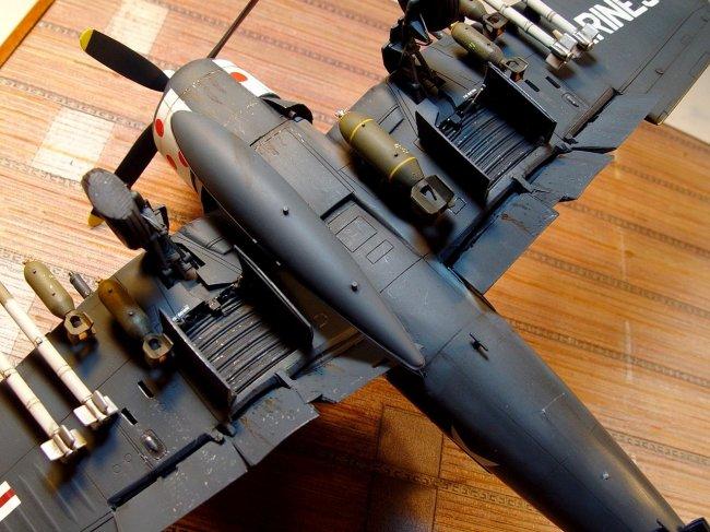 1 48 Academy F4u 4b Corsair By Emilio R Diaz
