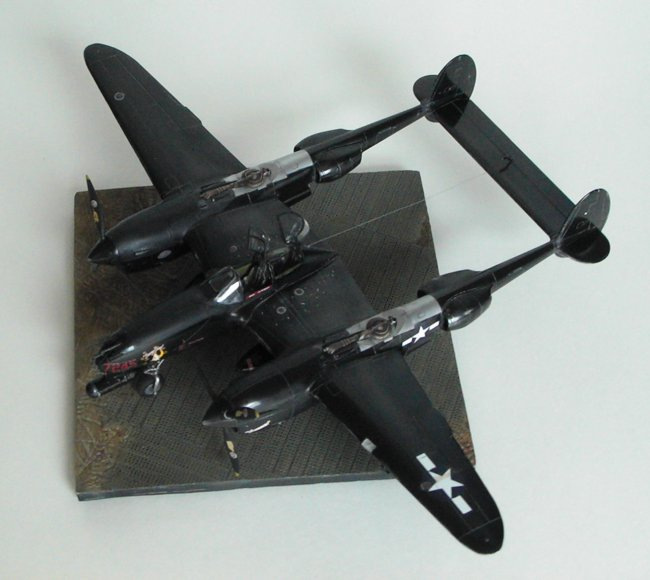 1/48 Academy P-38M Night Lightning By Mike Lepek