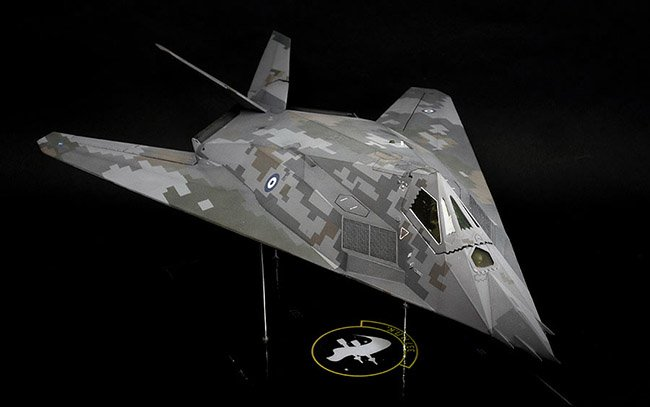 148 revell f 117a nighthawk by amen - Revell Night Color