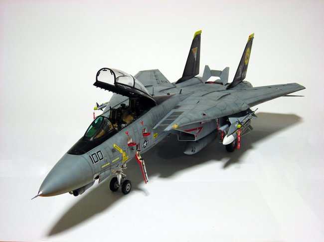 F 14 Super Tomcat The F-14 is a big aircraft and