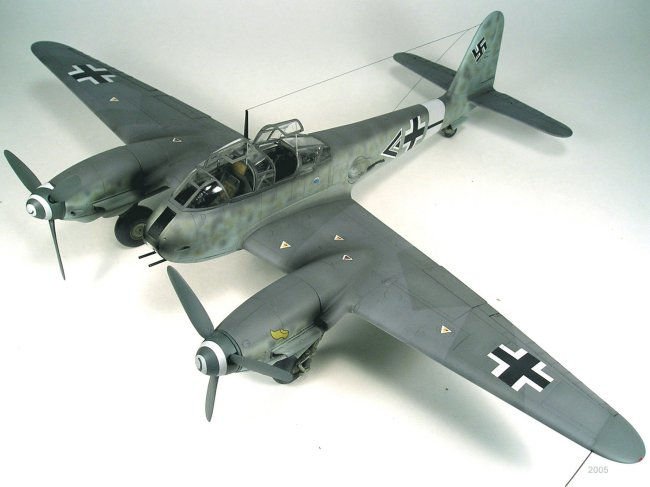 Finemolds Me 410 Completed - FineScale Modeler - Essential ...