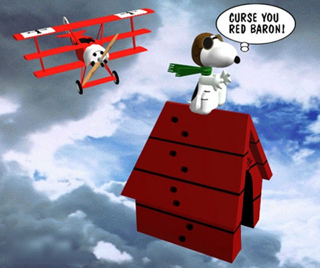 Red Baron Snoopy 67554 Loadtve
