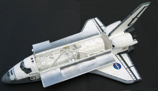 space shuttle model revell - photo #8