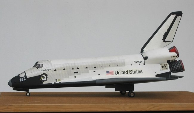 space shuttle columbia model - photo #38