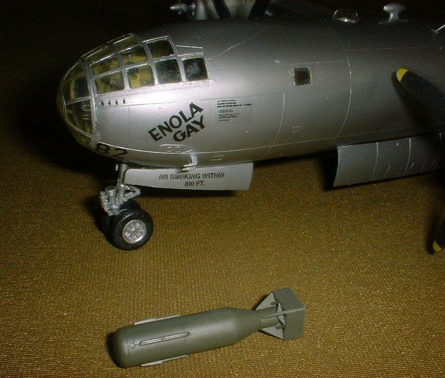1/72 Academy B-29 'Enola Gay' By David Chong