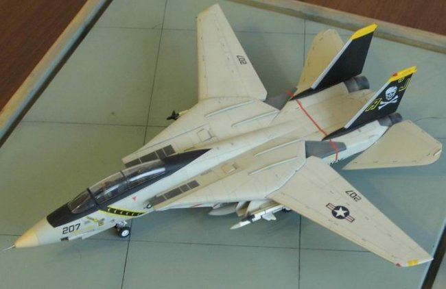 academy 1/72 f-14a tomcat review