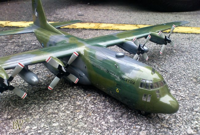 1 72 Italeri C 130h By Vincent Yong