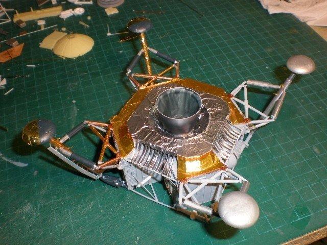moon landing modules cutaway-#23
