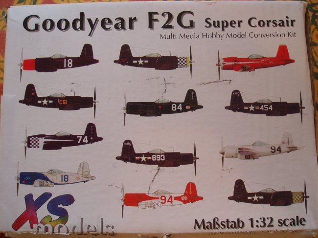 1 corsair detailed essay f2g photo super I took a bunch of b&w photos but they are in storage in il i got a copy of f2g-1  super corsair by steve muth which is a very good color essay of the same  aircraft  i have never attempted a model with this much detail, so what the heck.