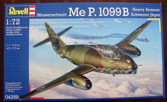 "Opération ""Kill the King"" [ Arado Ar. E.555 Revell 1/72 ] 01"