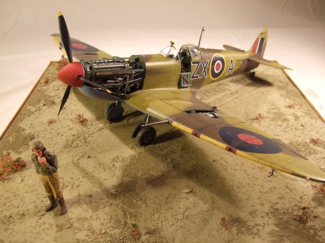 1/24 HobbyCraft Spitfire Mk Vb by Tim Jones