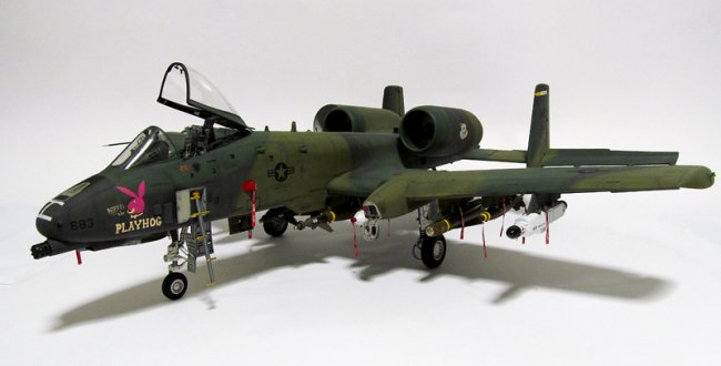 1 32 Trumpeter A 10a Thunderbolt Ii By David Porter
