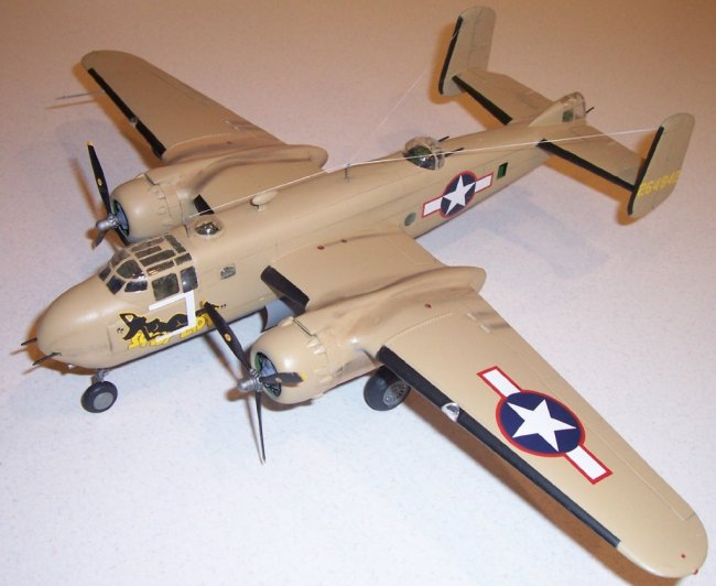 "North American B-25 Mitchell Fridge Magnet 2.5/"" x 3.5/"""