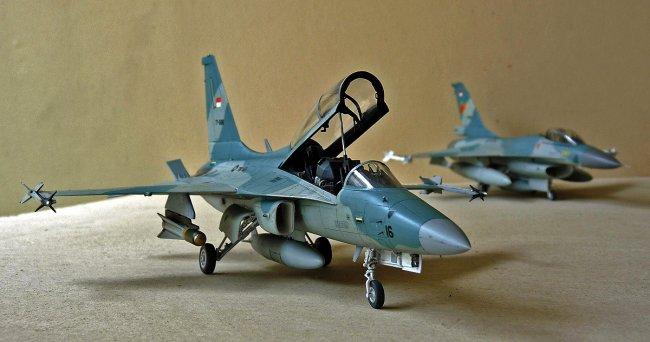 1/48 Academy T-50i Golden Eagle by Alex Sidharta