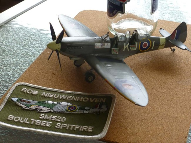 1/48 Revell Spitfire Mk XVI/Brigade Models conversion by Rob