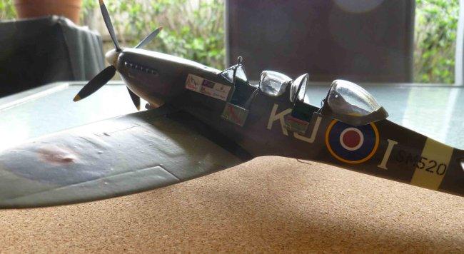 1/48 Revell Spitfire Mk XVI/Brigade Models conversion by Rob