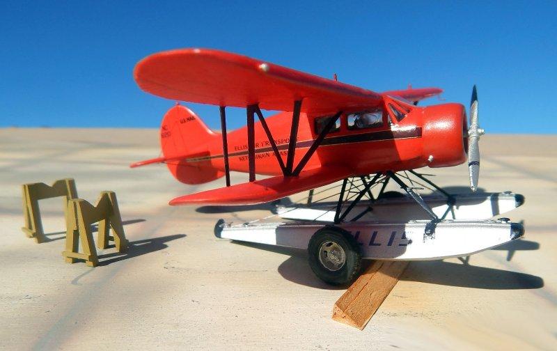 1/72 Khee-Kha Art Products Waco YKS-6 Cabin biplane by Carmel J Attard