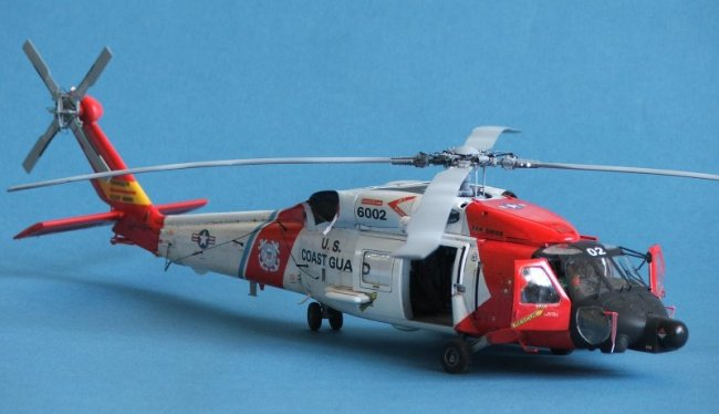 1/48 Italeri USCG HH-60J Jayhawk by Maurizio Bressan