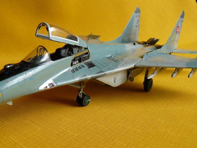 1/48 Academy MiG 29 Fulcrum A by Stanislav Lelko