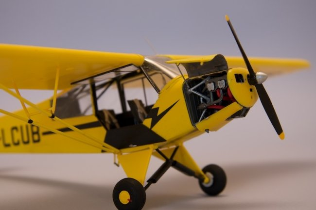 1/32 Revell Piper PA-18 Super Cub by Chris Fleet