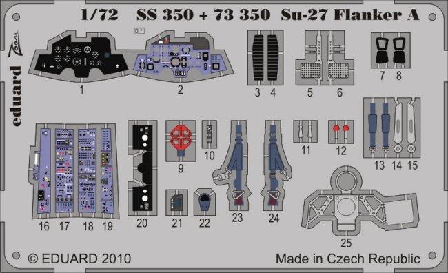 Eduard Accessories Cx393-1:72 Su-27 Flanker B 1//72 For Trumpeter Maskierfoli
